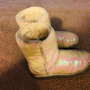 """Ugg Boots """"I Do"""" Series with Sequins"""